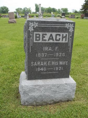 ABELL BEACH, SARAH ELIZA - Appanoose County, Iowa | SARAH ELIZA ABELL BEACH