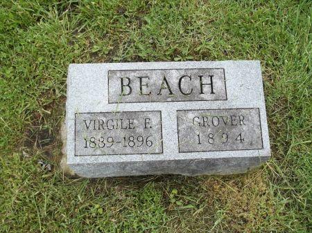 BEACH, VIRGILE - Appanoose County, Iowa   VIRGILE BEACH