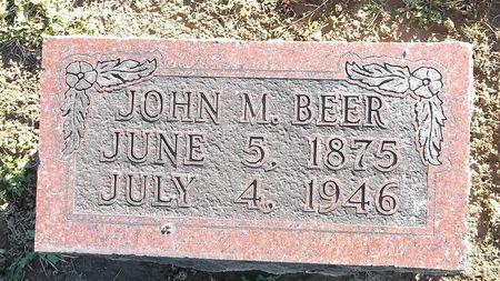 BEER, JOHN M. - Appanoose County, Iowa | JOHN M. BEER