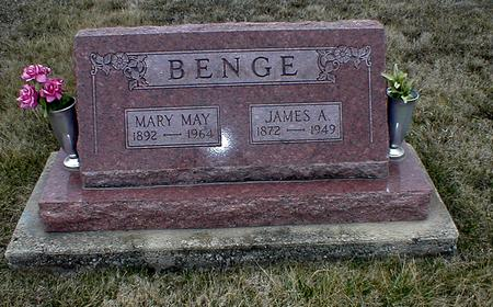 CHLUMSKY BENGE, MARY MAY - Appanoose County, Iowa | MARY MAY CHLUMSKY BENGE