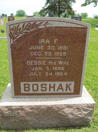 BOSHAK, BESSIE - Appanoose County, Iowa   BESSIE BOSHAK