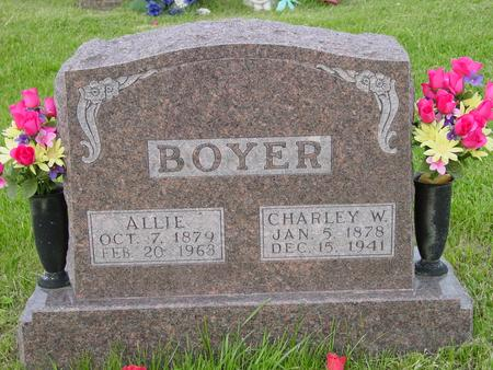 BOYER, ALLIE - Appanoose County, Iowa | ALLIE BOYER