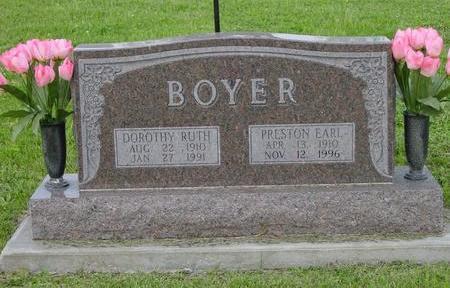 BOYER, DOROTHY RUTH - Appanoose County, Iowa | DOROTHY RUTH BOYER