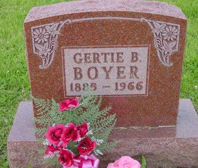 BOYER, GERTIE B. - Appanoose County, Iowa | GERTIE B. BOYER