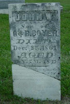 BOYER, JOHN W. - Appanoose County, Iowa   JOHN W. BOYER