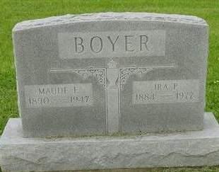 BOYER, MAUDE E. - Appanoose County, Iowa | MAUDE E. BOYER
