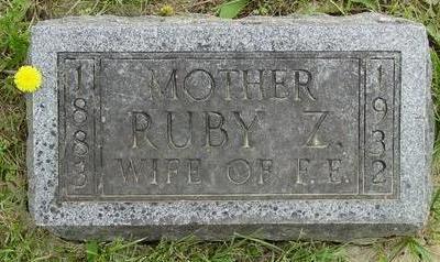 MORE BOYER, RUBY Z. - Appanoose County, Iowa | RUBY Z. MORE BOYER