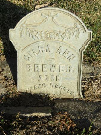 BREWER, GILDER ANN - Appanoose County, Iowa   GILDER ANN BREWER