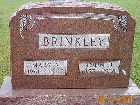 KINNEY BRINKLEY, MARY ALICE - Appanoose County, Iowa | MARY ALICE KINNEY BRINKLEY