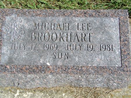 BROOKHART, MICHAEL LEE - Appanoose County, Iowa | MICHAEL LEE BROOKHART