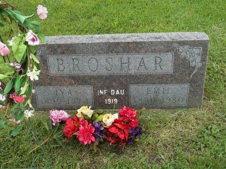 BROSHAR, INFANT DAUGHTER - Appanoose County, Iowa | INFANT DAUGHTER BROSHAR