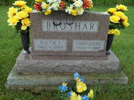 BROSHAR, THEODORE - Appanoose County, Iowa   THEODORE BROSHAR