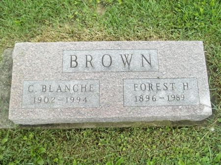 BROWN, FOREST H. - Appanoose County, Iowa | FOREST H. BROWN