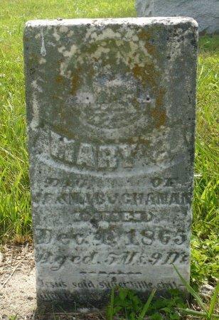 BUCHANAN, MARY E. - Appanoose County, Iowa | MARY E. BUCHANAN