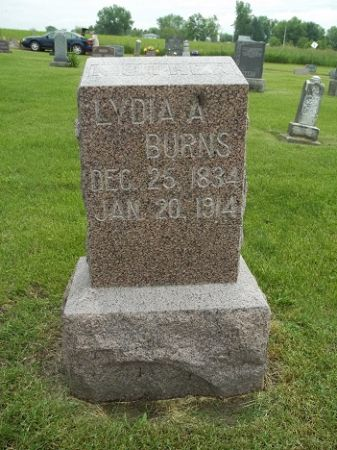 BURNS, LYDIA A - Appanoose County, Iowa | LYDIA A BURNS