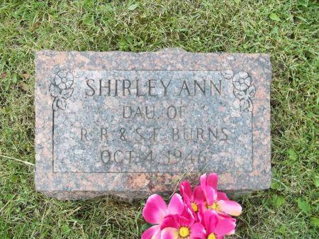BURNS, SHIRLEY ANN - Appanoose County, Iowa | SHIRLEY ANN BURNS