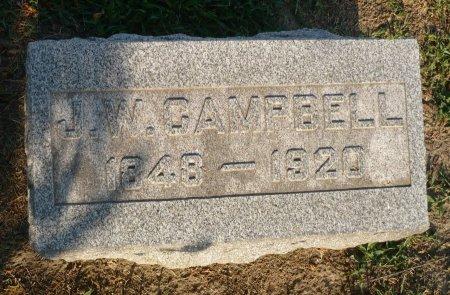 CAMPBELL, J. W. - Appanoose County, Iowa | J. W. CAMPBELL