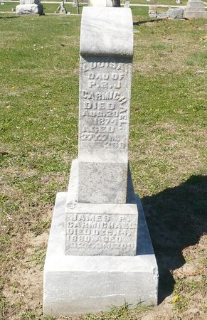 CARMICHAEL, JAMES P. - Appanoose County, Iowa   JAMES P. CARMICHAEL