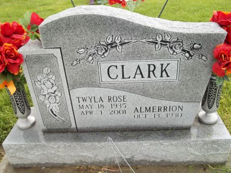 CLARK, TWYLA ROSE - Appanoose County, Iowa | TWYLA ROSE CLARK