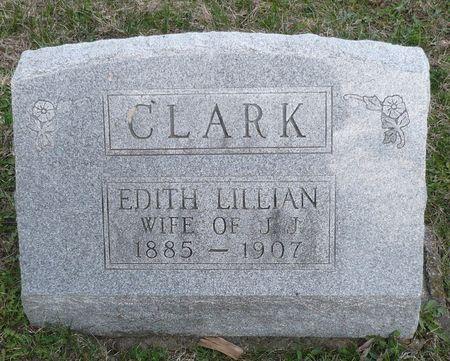 CLARK, EDITH LILLIAN - Appanoose County, Iowa | EDITH LILLIAN CLARK