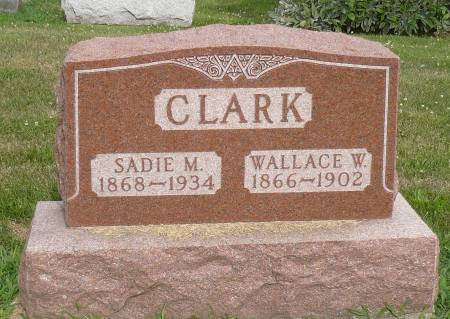 CLARK, SADIE M. - Appanoose County, Iowa | SADIE M. CLARK