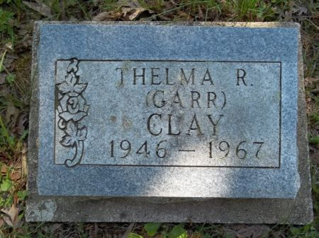 GARR CLAY, THELMA R. - Appanoose County, Iowa | THELMA R. GARR CLAY