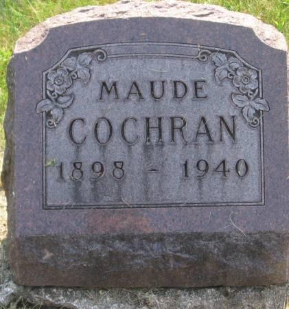 COCHRAN, MAUDE - Appanoose County, Iowa | MAUDE COCHRAN