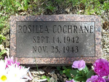 COCHRANE, ROSILEA - Appanoose County, Iowa | ROSILEA COCHRANE