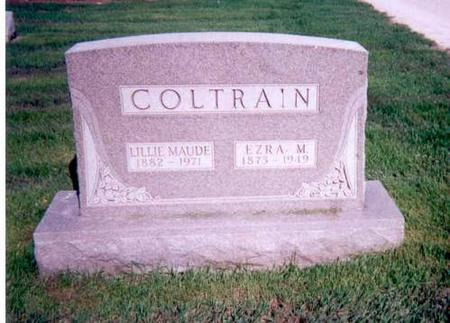 COLTRAIN, EZRA M AND LILLE MAUDE - Appanoose County, Iowa | EZRA M AND LILLE MAUDE COLTRAIN