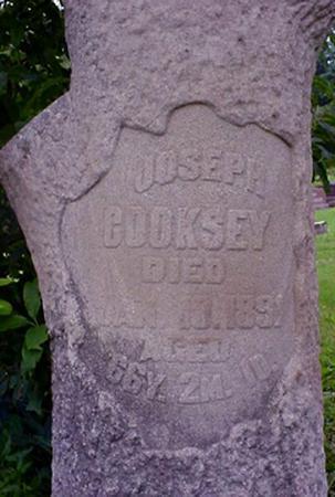 COOKSEY, JOSEPH WILLIAM - Appanoose County, Iowa | JOSEPH WILLIAM COOKSEY