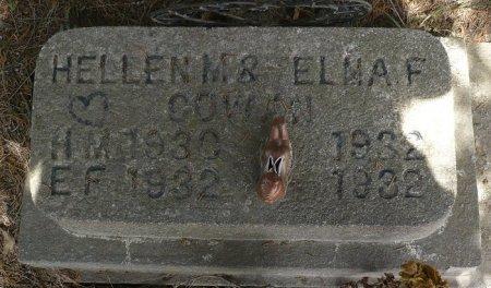 COWAN, ELNA F. - Appanoose County, Iowa | ELNA F. COWAN