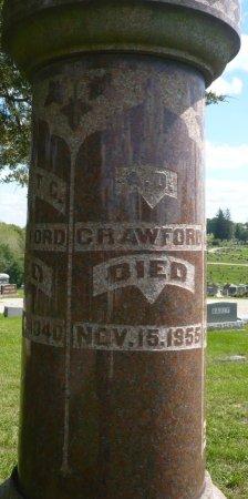 CRAWFORD, A. D. - Appanoose County, Iowa | A. D. CRAWFORD