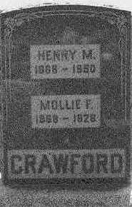 CRAWFORD, MOLLIE F. - Appanoose County, Iowa | MOLLIE F. CRAWFORD