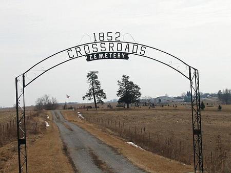 CROSSROADS, CEMETERY - Appanoose County, Iowa   CEMETERY CROSSROADS