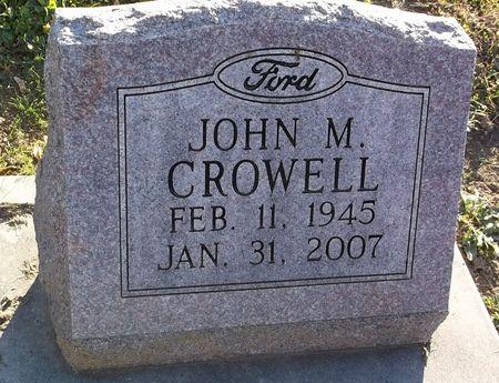 CROWELL, JOHN M. - Appanoose County, Iowa | JOHN M. CROWELL