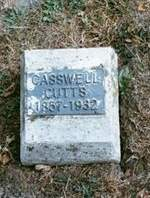 CUTTS, CASWELL - Appanoose County, Iowa   CASWELL CUTTS
