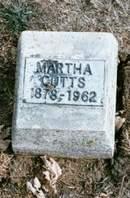 CUTTS, MARTHA - Appanoose County, Iowa   MARTHA CUTTS