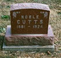CUTTS, NOBLE - Appanoose County, Iowa   NOBLE CUTTS