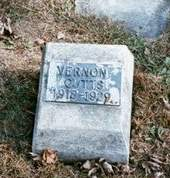 CUTTS, VERNON - Appanoose County, Iowa   VERNON CUTTS