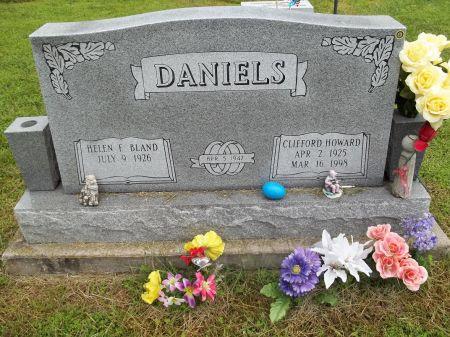 DANIELS, CLIFFORD HOWARD - Appanoose County, Iowa | CLIFFORD HOWARD DANIELS