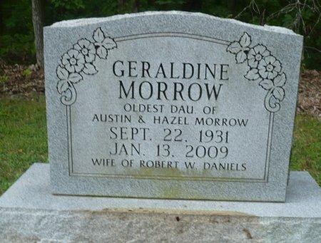MORROW DANIELS, GERALDINE - Appanoose County, Iowa | GERALDINE MORROW DANIELS
