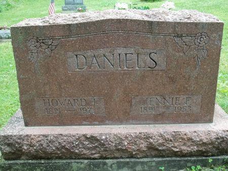 DANIELS, JENNIE F. - Appanoose County, Iowa   JENNIE F. DANIELS