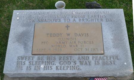 DAVIS, TEDDY W. - Appanoose County, Iowa   TEDDY W. DAVIS