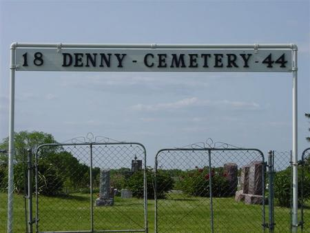 DENNY, CEMETERY - Appanoose County, Iowa   CEMETERY DENNY