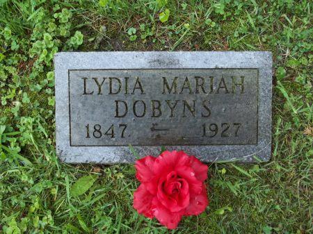 DOBYNS, LYDIA MARIAH - Appanoose County, Iowa | LYDIA MARIAH DOBYNS