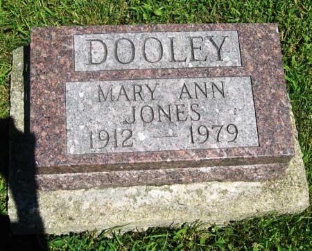 DOOLEY JONES, MARY ANN - Appanoose County, Iowa | MARY ANN DOOLEY JONES