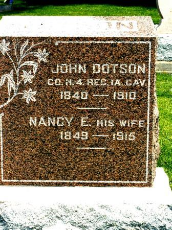 DOTSON, JOHN - Appanoose County, Iowa | JOHN DOTSON