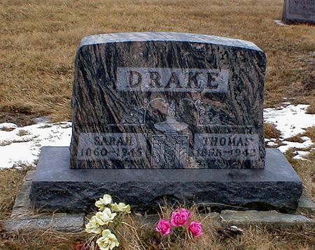 DRAKE, SARAH - Appanoose County, Iowa | SARAH DRAKE