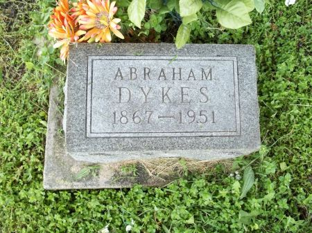 DYKES, ABRAHAM - Appanoose County, Iowa   ABRAHAM DYKES