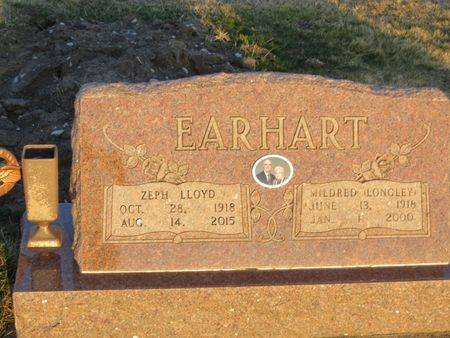 EARHART, ZEPH LLOYD - Appanoose County, Iowa   ZEPH LLOYD EARHART
